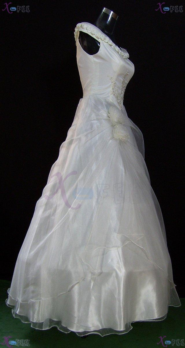 hsw00003 Formal Wedding Dress Rose Flower All Sizes Custom-made 2